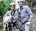 Cachorro é resgatado após cair em barranco de oito metros em Vitória. Crédito: Divulgação/ Corpo de Bombeiros