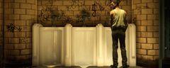 Cena do game 'The Tearoom', de Robert Yang