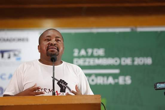 Lula Rocha, 36 anos, representante de movimentos sociais no Espírito Santo