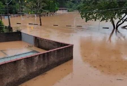 Em Ibitirama, Apiacá e Bom Jesus do Norte, choveu mais de 100.00mm nas últimas 24 horas