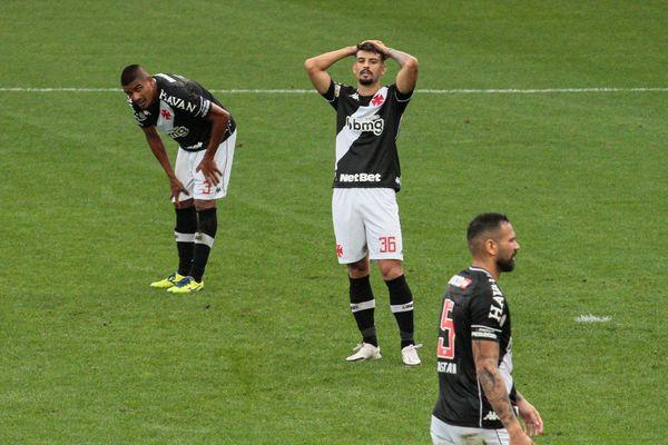 Ricardo Graça, durante partida entre Corinthians e Vasco da Gama, válida pela 37a rodada do Campeonato Brasileiro 2020