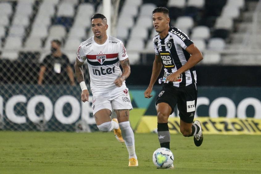 Crédito: Botafogo voltou a vencer no Campeonato Brasileiro após dez partidas (Vítor Silva/Botafogo