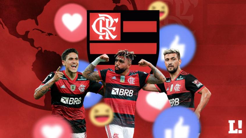 Crédito: Torcida do Flamengo terá mais uma opção para acompanhar o Flamengo no ambiente digital (Arte: Lance!