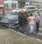 Acidente foi registrado em Vila Velha. Crédito: Internauta