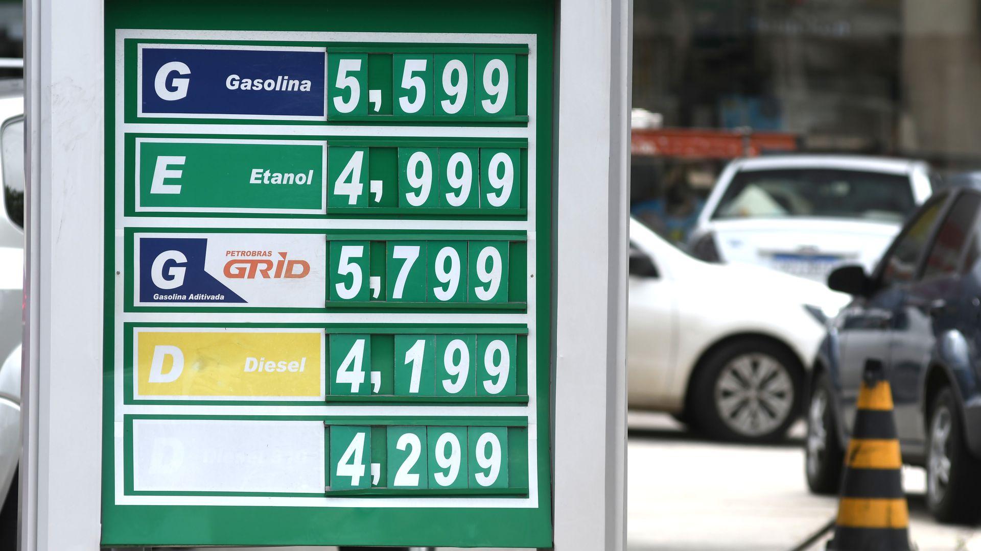 Preço dos combustíveis nos postos da Grande Vitória