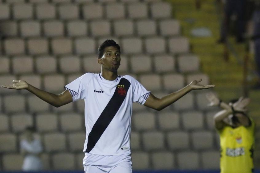 Crédito: Laranjeira entrou bem no segundo tempo e fez a sua estreia como profissional do Vasco (Ale Vianna/Divulgação