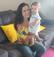 Juliana Bourguignon Vogas, 35 anos, é coordenadora de comunicação dos Correios e mãe da Isabela, de um ano e dois meses. Crédito: Arquivo pessoal/ Juliana Bourguignon Vogas
