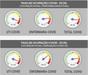 Dados do Painel de Ocupação de Leitos da Sesa. Crédito: Reprodução/Sesa