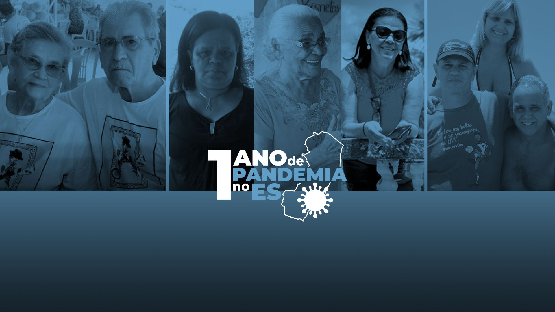 AnaGertrudes, Florentino,Valdira,Ana, Jaci,Elias,Jaime e Jaciara: vítimas da Covid-19 no ES