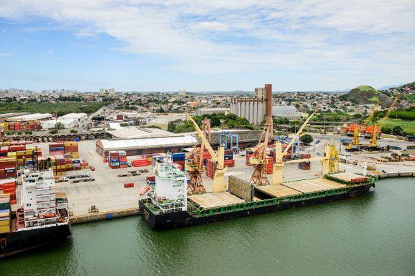 Porto de Vitória TVV - Divulgaçao Codesa