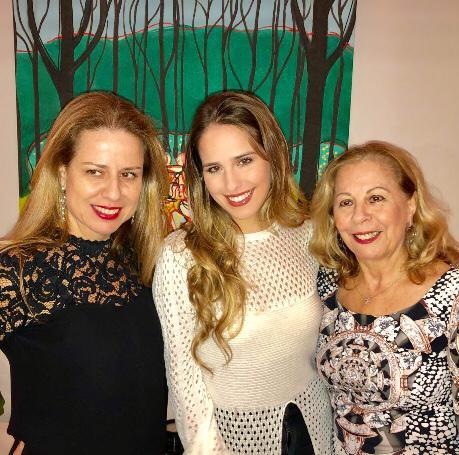 Sandra, Manuela e Liseta Fonseca