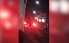 Polícia interditou avenida Norte Sul, na Serra, durante ocorrência para verificar possível arrombamento em agência bancária