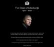 Comunicado publicado no site da família real britânica confirma morte do Principe Philip