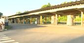 Terminal de Itacibá também vazio na manhã desta terça (13) durante protesto dos rodoviários