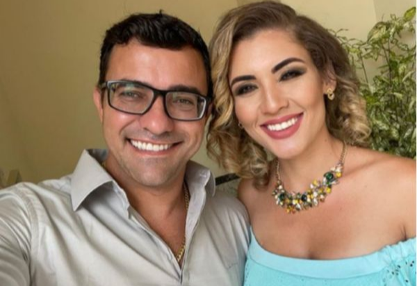 Prefeito de São Gabriel da Palha renomeia esposa para cargo na prefeitura. Crédito: Redes SociaisMarcella Rossoni | Reprodução