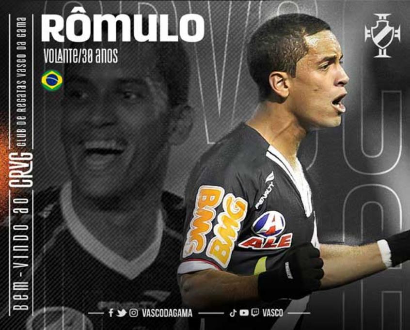 Crédito: Volante foi anunciado pelo Vasco na terça-feira (Divulgação/Vasco da Gama