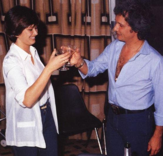 Roberto Carlos e Myrian Rios