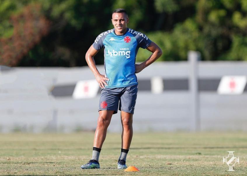 Crédito: Léo Jabá vive momento de retomada da carreira e já deu uma assistência (Rafael Ribeiro/Vasco