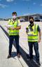 Drones usados no monitoramento do Aeroporto de Vitória. Crédito: Zurich Aiport/Divulgação