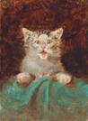 Um pequeno gato, obra de Henri de Toulouse- Lautrec