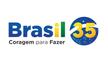 Logotipo do partido Brasil 35, ex-PMB (Partido da Mulher Brasileira)