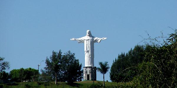 O Cristo Redentor de  Guaçuí
