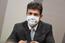 Luiz Henrique Mandetta, ex-ministro da Saúde, em depoimento na CPI da Pandemia