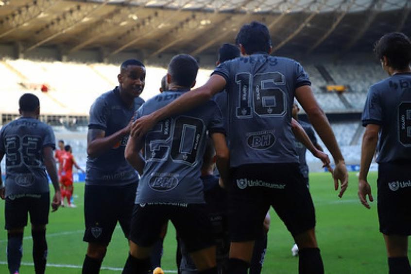 Crédito: Sem dificuldades, o alvinegro passou pelo Tombense e decidirá mais um Estadual-(Pedro Souza/Atlético-MG