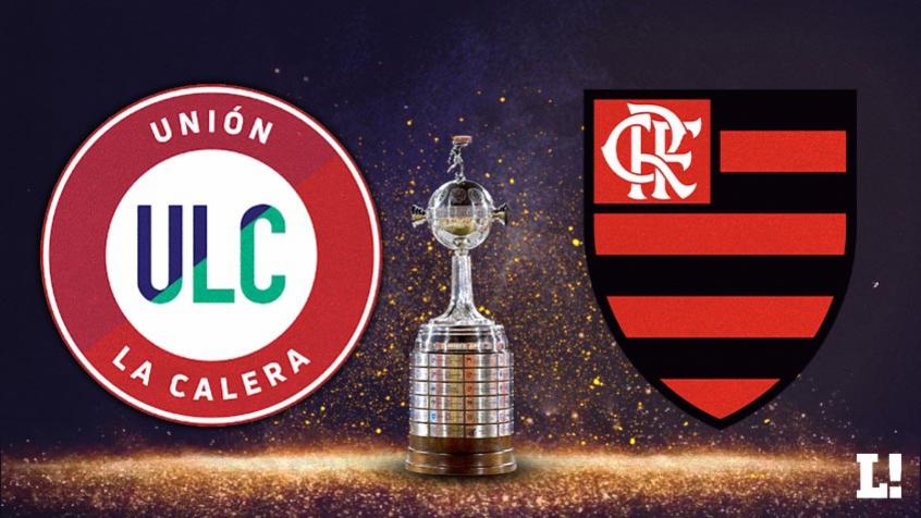Unión La Calera e Flamengo se enfrentam no Chile. Crédito: Arte LANCE!