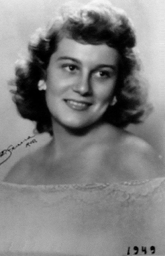 Yeda Finamore, representante de Vitória, vencedora do Miss Espírito Santo 1949