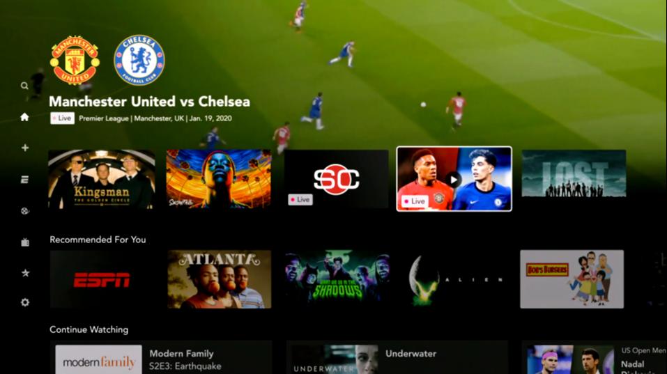 O serviço de streaming promete a programação esportiva como sendo seu diferencial. Crédito: Reprodução/Star +