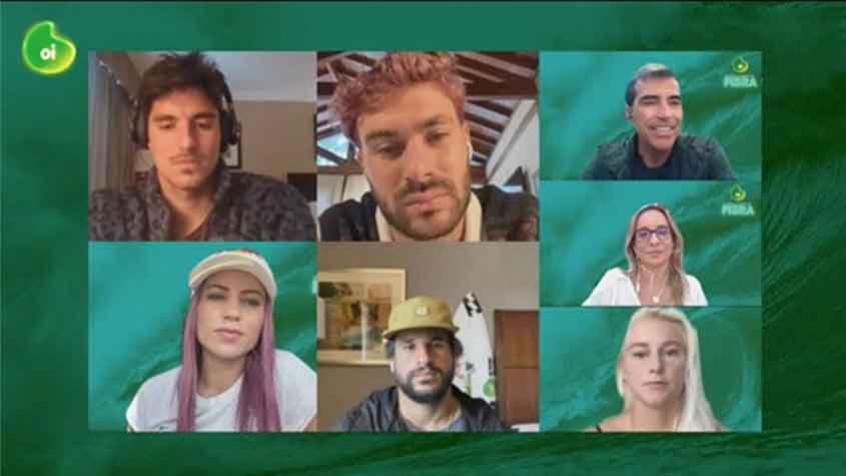 Crédito: Atletas de surfe e skate falaram em entrevista organizada pela Oi (Imagem: Divulgação/Oi