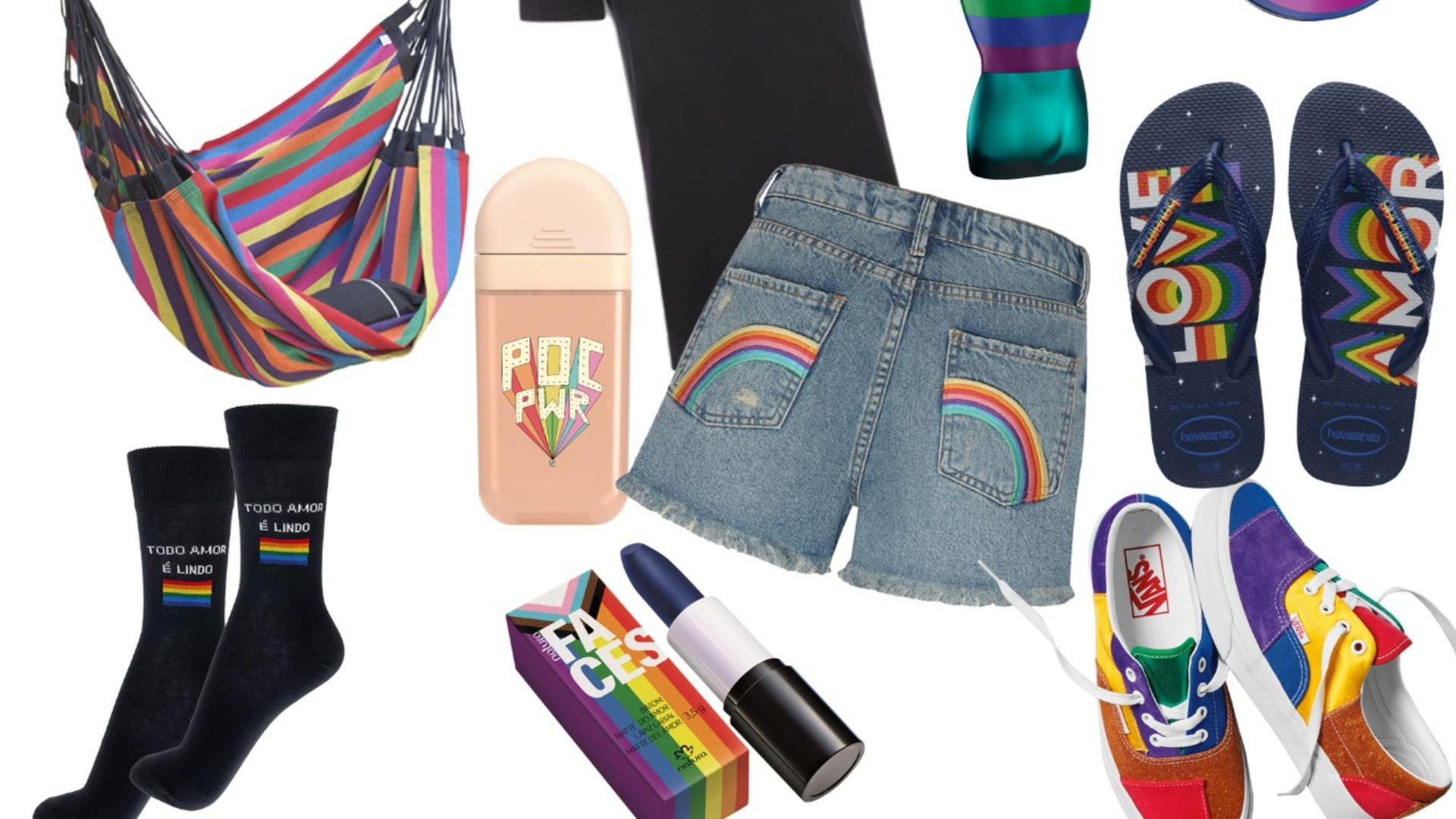 Uma seleção de produtos para você celebrar o Mês do Orgulho LGBTQIA+