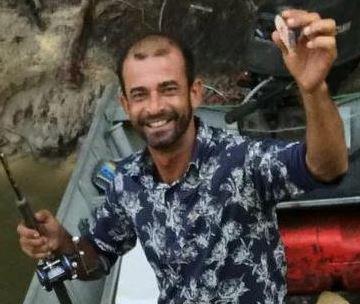 Valmir dos Reis Lopes suspeito de assassinar a esposa em Vila Velha