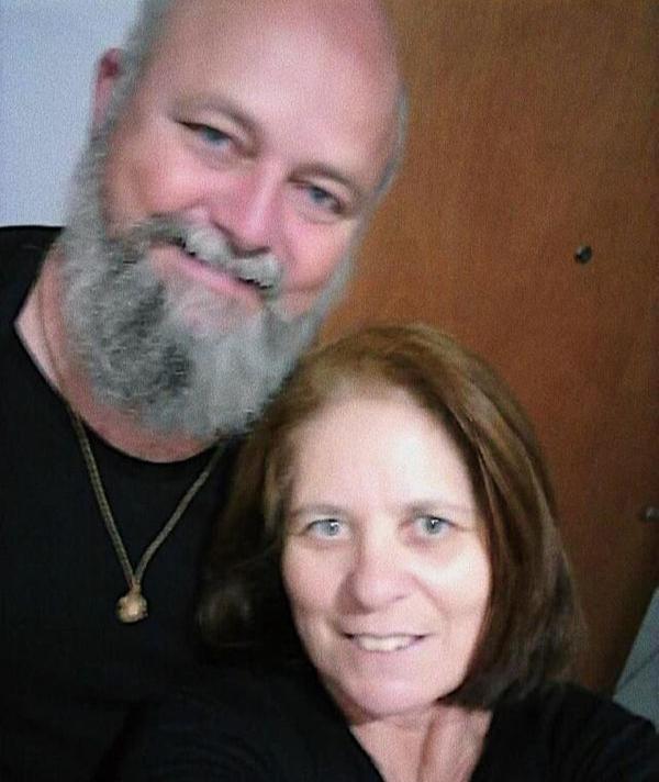 Vanildo Stieg e a esposa Rosemary. Crédito: Arquivo da família