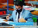 Senador Marcos do Val se desentendeu com o deputado Luís Miranda na CPI da Covid