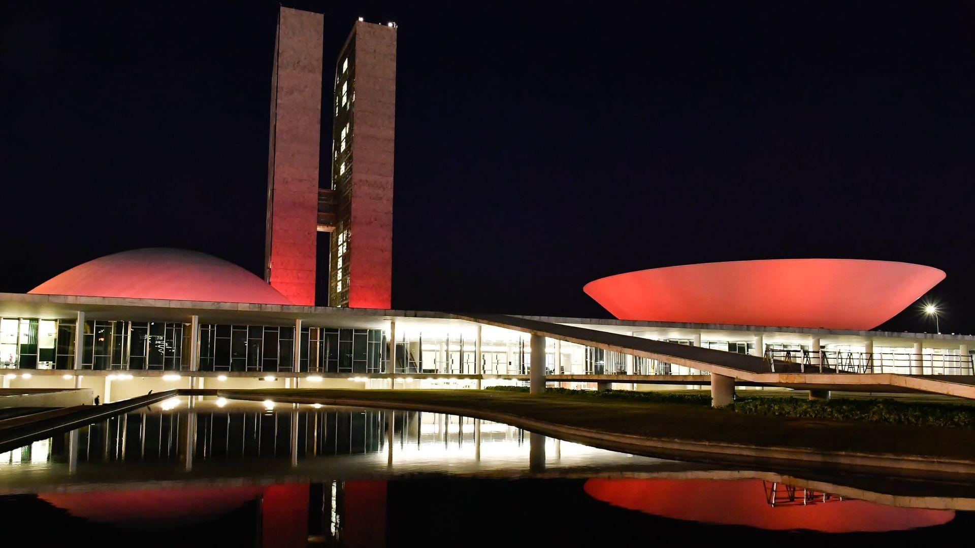 Congresso Nacional, em Brasília: tanto Collor quanto Bolsonaro ficaram reféns do Centrão