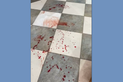 Igreja ficou suja de sangue após agressão a sacristã antes de missa em Vitória