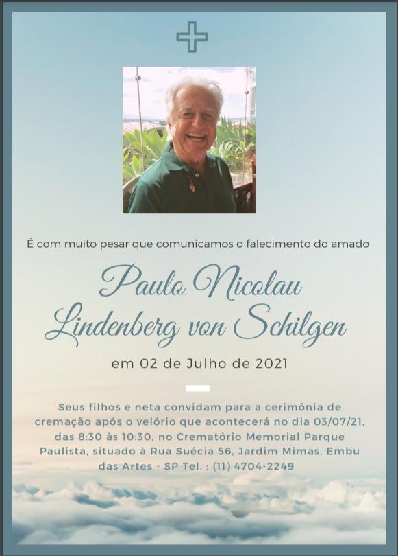 Homenagem a Paulo Nicolau Lindenberg Von Schilgen