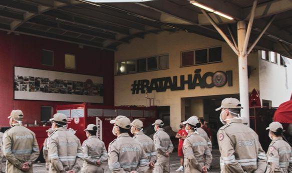 Corpo de Bombeiros vai ganhar reforço de 80 soldados. Crédito: Facebook Corpo de Bombeiro
