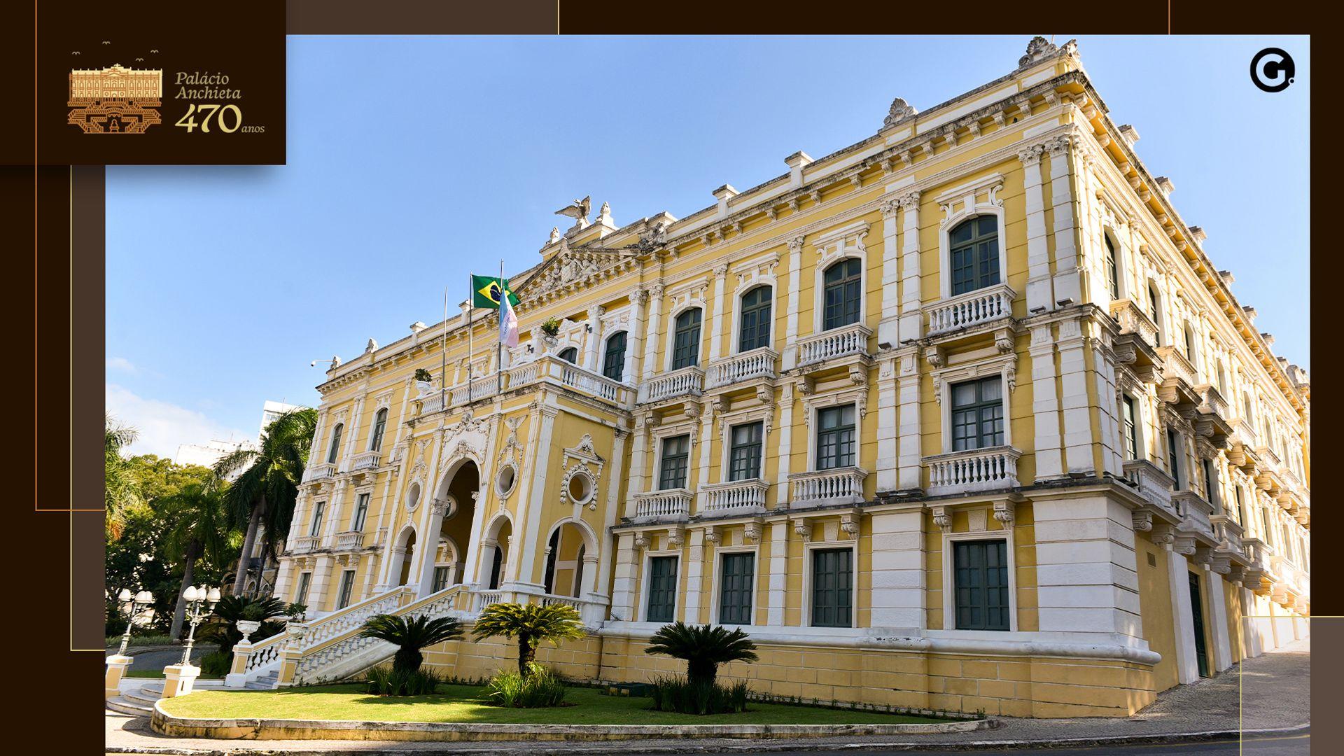 Palácio Anchieta comemora 470 anos em julho