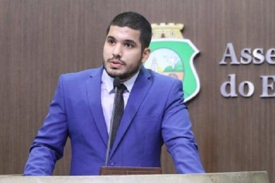 O deputado estadual do Ceará André Fernandes (Republicanos-CE)