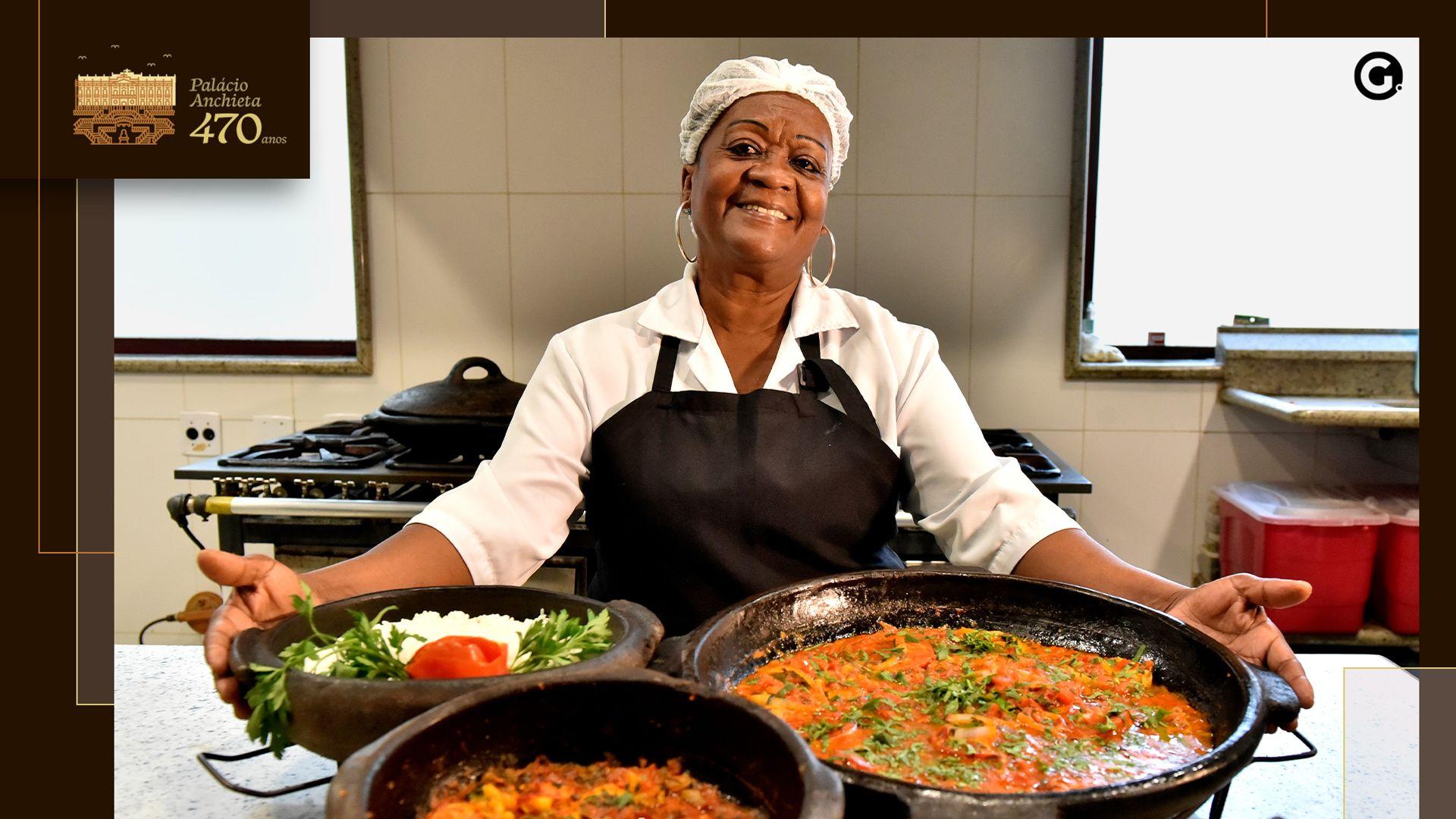 Maria Ângela Dantas, Anginha, cozinheira do Palácio Anchieta