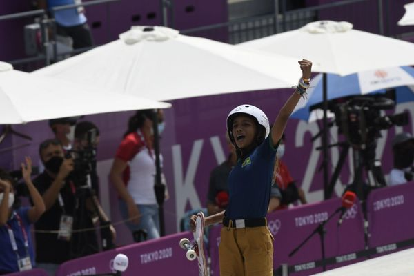 A Fadinha do Skate, Rayssa Leal, conquistou não só a prata, mas o coração de todos os brasileiros tv81l0acd