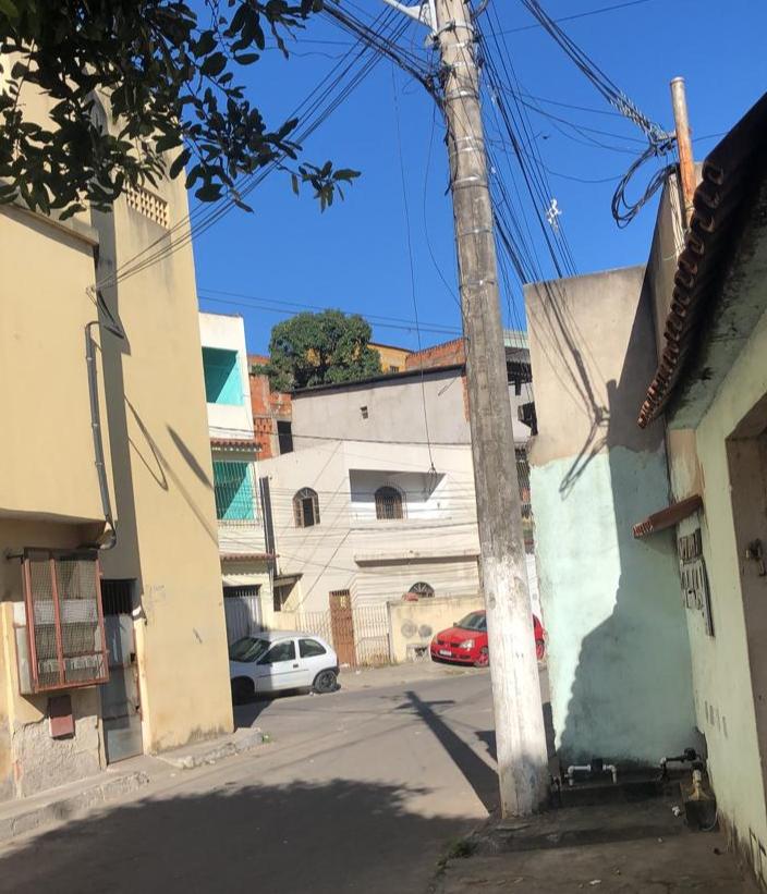 Região onde foi registrado tiroteio no bairro Primeiro de Maio, em Vila Velha. Crédito: Internauta