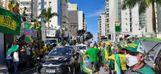 Concentração de manifestantes em Vila Velha: protesto por voto impresso