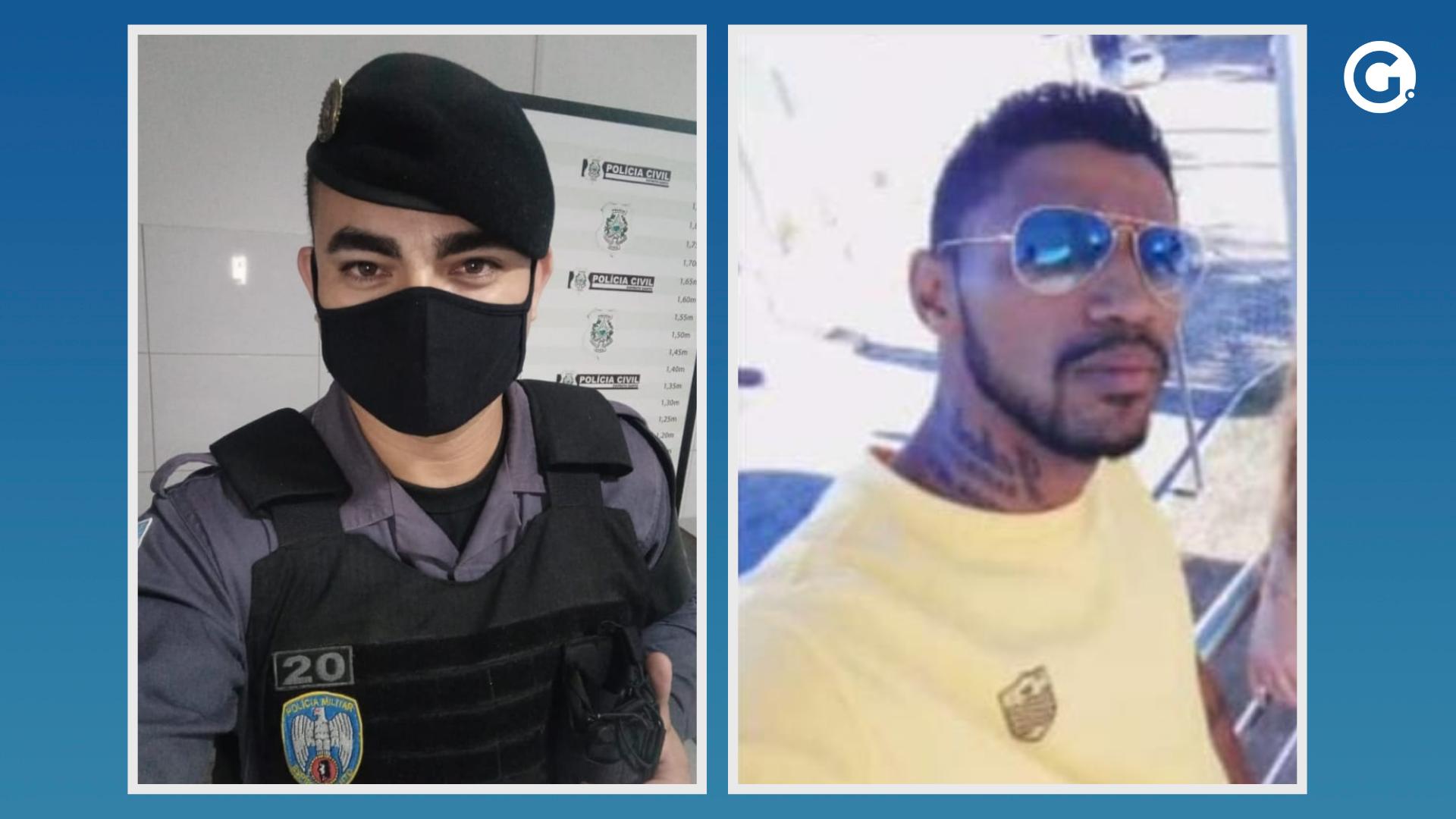 Richard Pereira Rocha, de 35 anos, eJhulian Harlei Alves de Souza. Crédito: Divulgação / Montagem A Gazeta