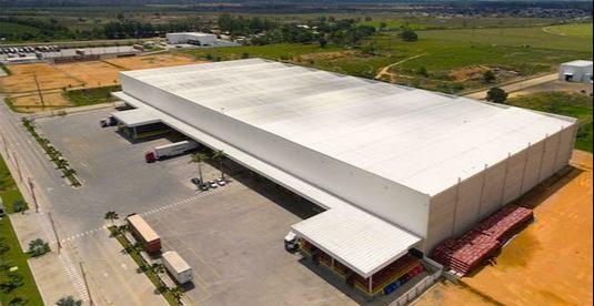 Centro de Distribuição da empresa em Linhares. Crédito: Leão Alimentos/Divulgação