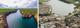 Imagens foram usadas na comparação entre Canindé de São Francisco (à esquerda) e Montanha (direita) pelo MPES