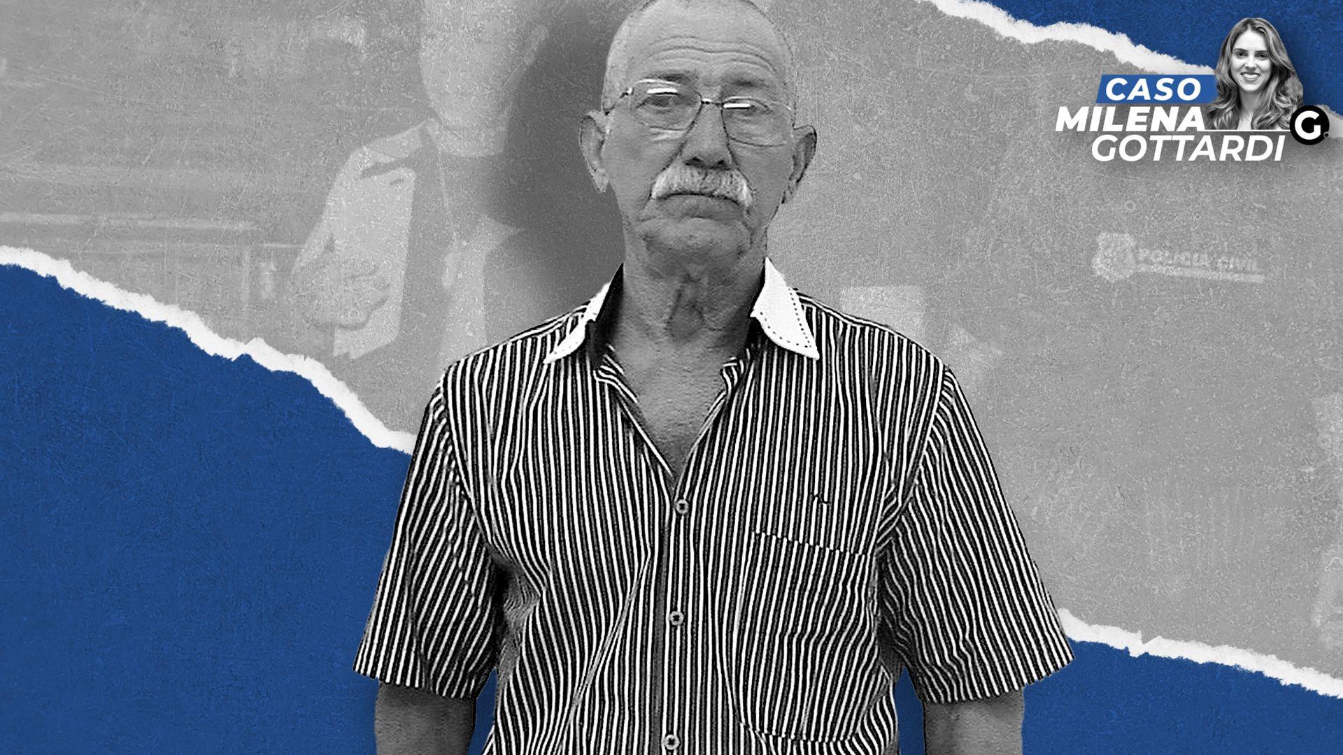 Esperidião Carlos Frasson, ex- sogro de Milena Gottardi,  foi preso acusado de ser um dos mandantes do assassinato da médica